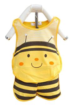 Bộ đồ Con ong vàng Family TEH42 (Vàng)