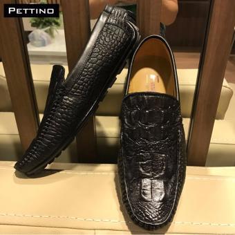 Giày Lười Nam Cao Cấp - Pettino GL.10 (đen)