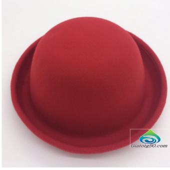 Nón Nỉ Vành Tròn Duyên Dáng TL6329-3 (Đỏ)