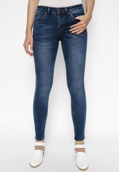 Quần Jeans Dài Trơn Cạp Vừa AAA Jeans