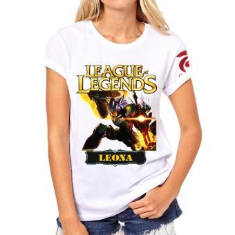 Áo thun Liên minh huyền thoại LOL nữ Leona Siêu Phẩm vàng
