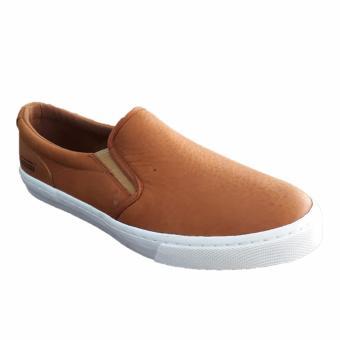 Giày lười da bò thiên nhiên M138B (Nâu)