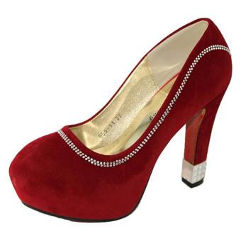 Giày cao gót Nóni tròn SoYoung CG 009 DO (Đỏ)