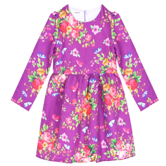 New Girls Flower Dress - intl