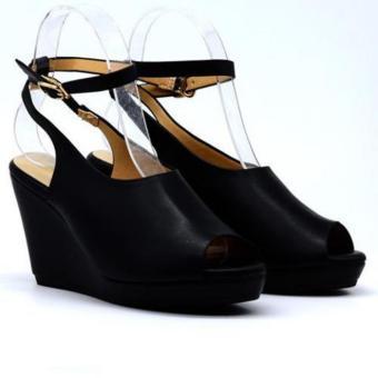 Giày sandal đế xuồng Eva4178 Đen