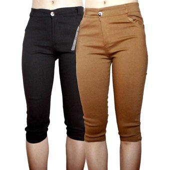Bộ 2 quần lửng nữ SoYoung 2WM CROPPED PANT 002 B CA