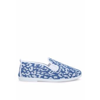 Giày Lười Flossy Benissa (Xanh Da Báo)