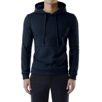 Khoác hoodie nam trơn - ( Xanh Đen)