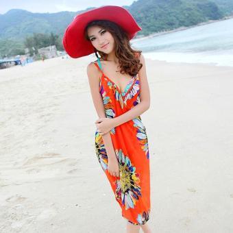 Khăn Tắm Hoa Hướng Dương (Cam)
