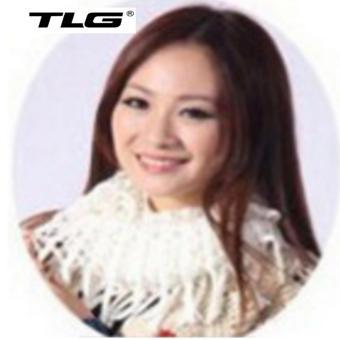 Khăn Len Nữ Dệt Kim Tua TL6312-2 (Trắng)