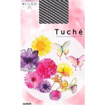 Quần tất lưới đen Gunze Tuche