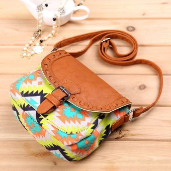 Moonar Fashion Summer Women Messenger Bags Denim Print Crossbody Shoulder Small Desiner Handbags - intl