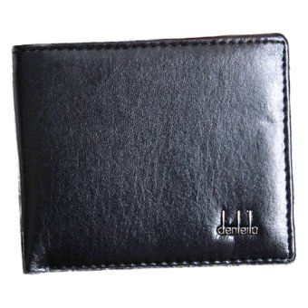 Fancyqube Leather Business Men's Wallet (Black) - Intl