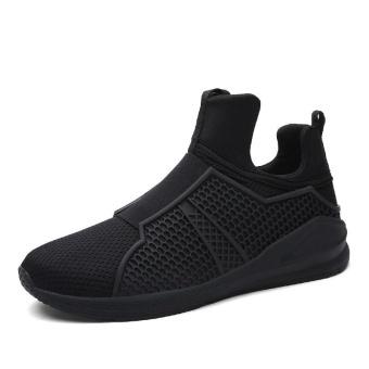 Fashion Men Sneaker Mesh Breather Shoes Casual Shoes - intl