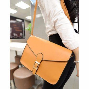 Mua Womens Fashion Soft PU Leather Top-handle Bag Removable Tote Handbag Bag Cross Body Shoulder Bags - intl giá tốt nhất