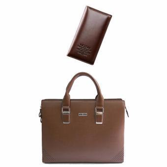 Bộ túi xách và ví dài công sở phong cách DT1005