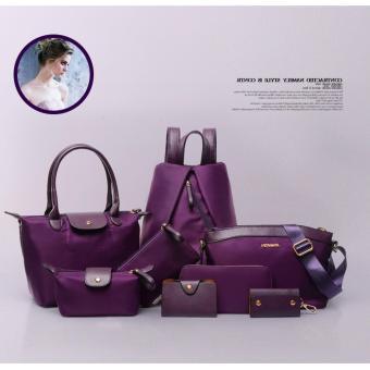Túi xách, ví và balo 8 mẫu dành cho nữ CHODEAL24H (tím)