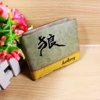 Bóp Da Nam Baellerry Bd152 (Xanh Rêu)