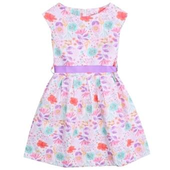 Đầm TE NT BG50708 4-14 màu Trắng V.T.A.Kids