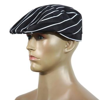 Hotel Restaurant Cloth Plaid Striped Plain Chef Cook Hat Party (Intl)