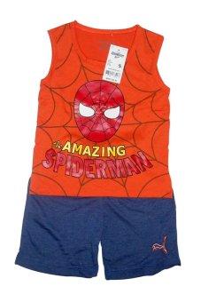 Bộ quần áo Spiderman (Cam)