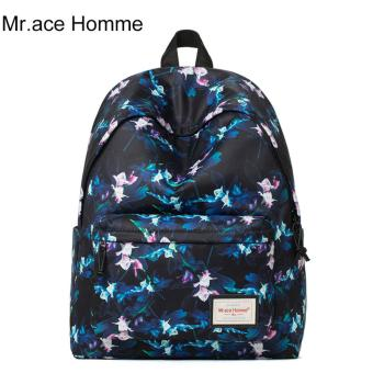 Balo Thời Trang Mr.ace Homme MR17A0448B01 / Xanh đen phối hoa