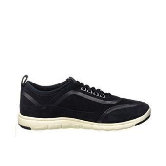 Giày Sneaker Da Geox U XUNDAY 2FIT B (Xanh Navy)