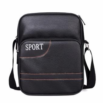 Túi đeo chéo nam Hàn Quốc (đen)