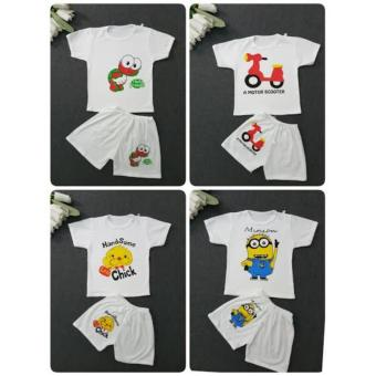 Bộ cotton cho bé 1-5y made in VN