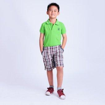 Quần bé trai Ugether UKID46 (Caro nâu)