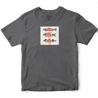 Áo Thun Nữ Blossom Fishes (Xám)