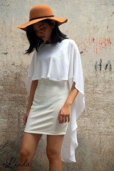Đầm bodycon Xavia Clothes Linda (Trắng)