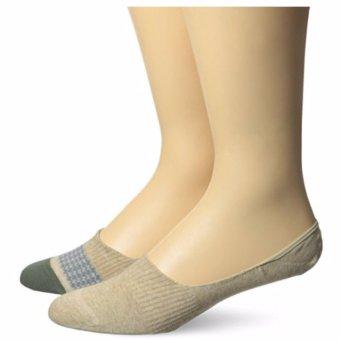 Bộ 2 đôi tất (vớ) nam Dockers Men's 2 Pack Houndstooth Liner Socks (Mỹ)