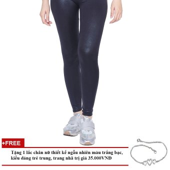 Quần Legging Nhũ Cạp Chun Nữ Soyoung GIFT WM QUAN 042C B + Tặng 1 Lắc Tay Nữ