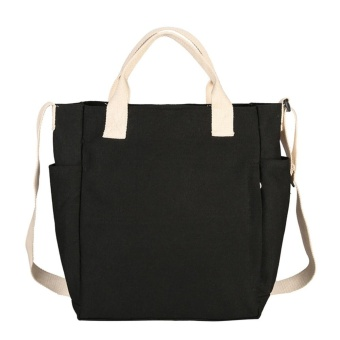 Women Fashion Handbag Canvas Shoulder Bag Large Tote Ladies Purse - intl