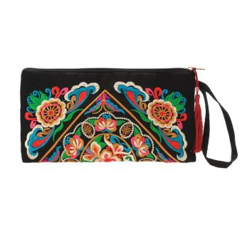 Galsang Flower Clutch (Multicolor)
