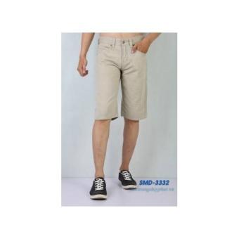 Quần Shorts Kaki Nam XK SMD 3332 màu kem