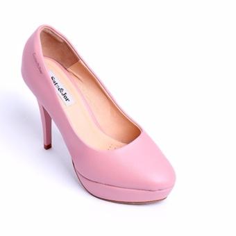 Giày cao gót SJ0013 (Hồng)