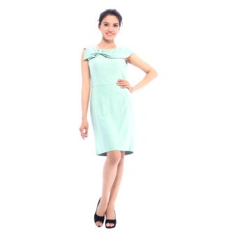 Đầm Công Sở Bb Fashion House D0014 (Xanh Ngọc)