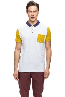 Bellfield Men's Pique Polo White