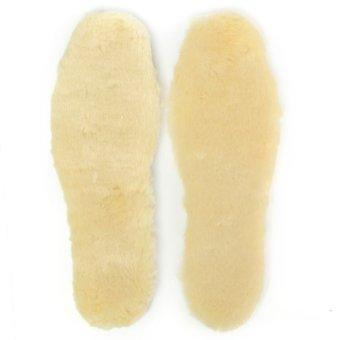 Women Man Sheepskin Shoe Boots Insoles 42 - Intl - intl