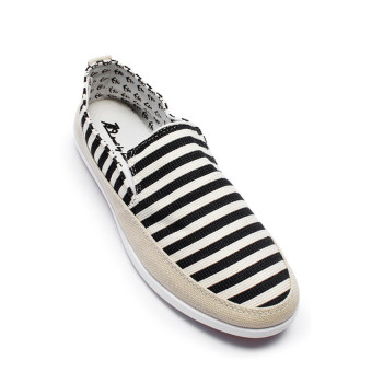 Giày sneaker nam AZ79 MNTT0140003 (Đen sọc)