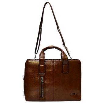 Túi xách da nam đựng laptop 999 (Nâu)