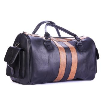 Túi xách du lịch da Giày Da Miền Trung TXDL124D-1 ( Đen )