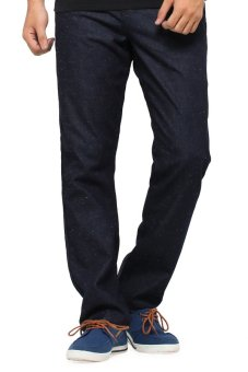 Native Youth Fleck Denim Straight Leg Jean-(Indigo)