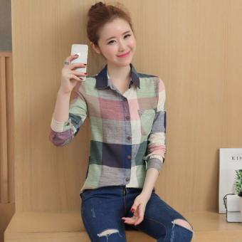 Sơ Mi Kẻ - SM48-Nhat