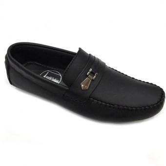 Giày lười da thật nam Everest (Đen) C82