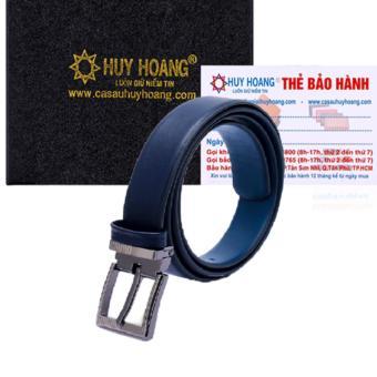 HL5108 - Thắt lưng nữ Huy Hoàng cỡ lớn màu xanh