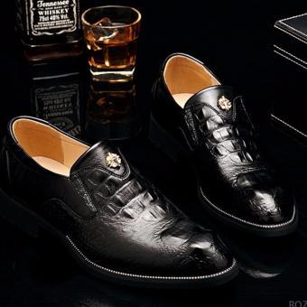 Giày tây nam cao cấp ZANI ZM56993B-Đen