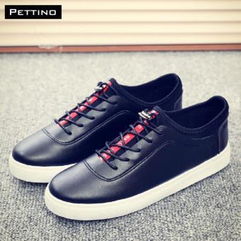GIÀY LƯỜI NAM THỜI TRANG - Pettino GV-12 (đen)